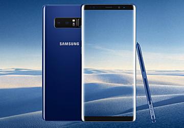 Samsung Galaxy Note8 w UK