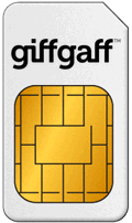 Karta Sim w UK Giffgaff