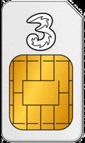 Karta SIM w UK Three