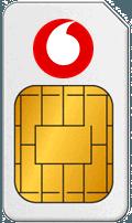 Karta SIM w UK Vodafone