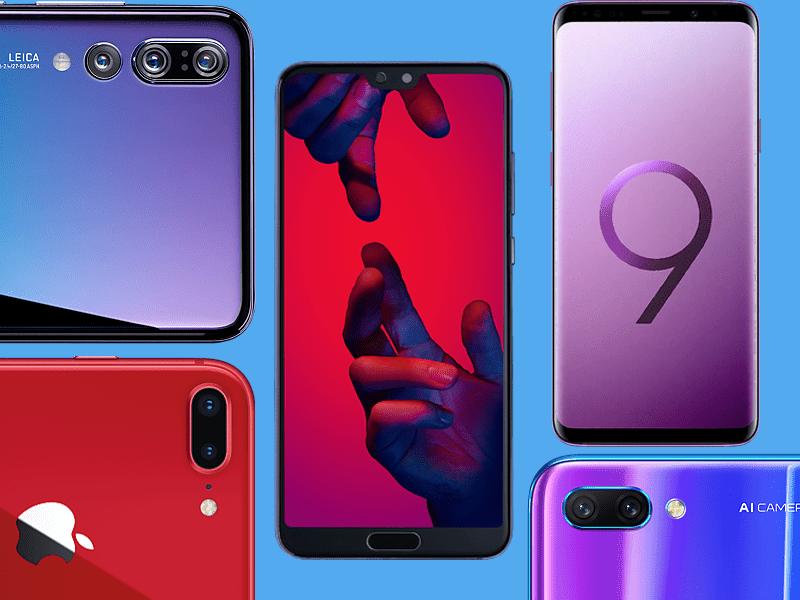 Najlepsze telefony w UK 2018