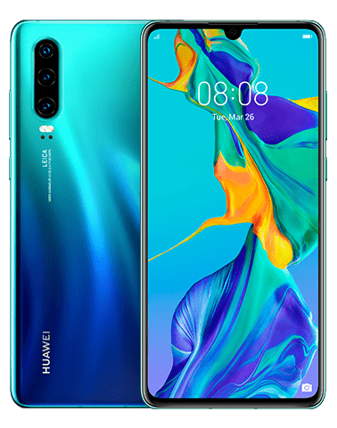 Premiera Huawei P30 w UK