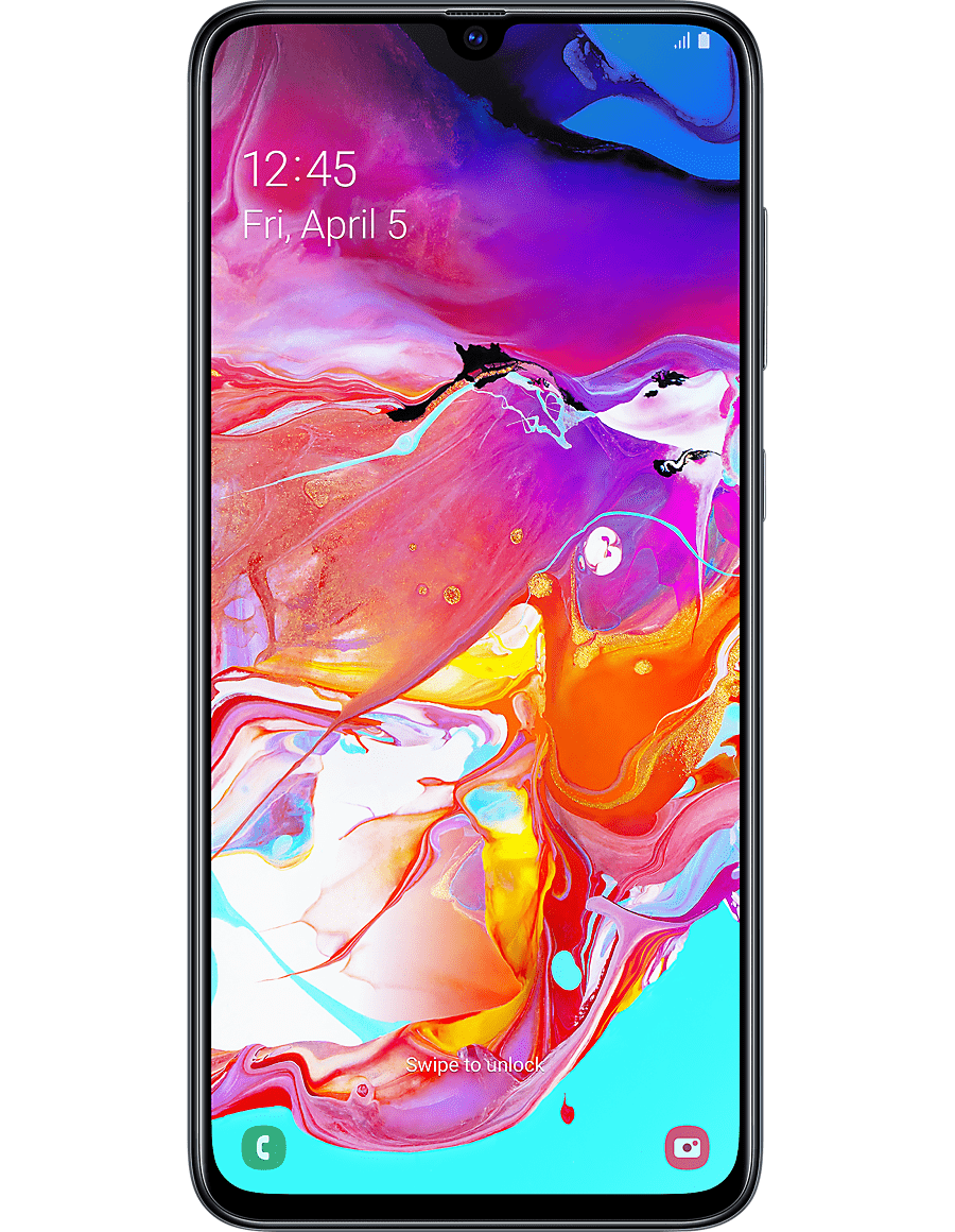 Samsung Galaxy A70 na abonament w UK