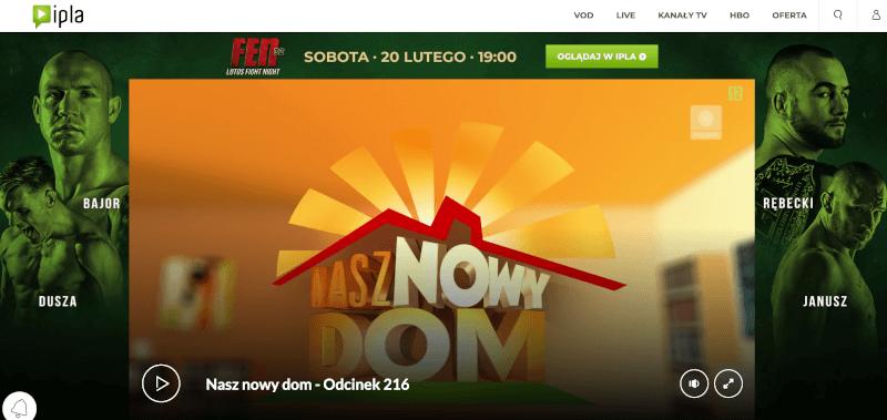 Polska telewizja w UK przez Internet